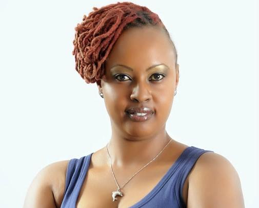 Former Machachari actress Wambui Mburu vows to march to President Uhuru Kenyatta