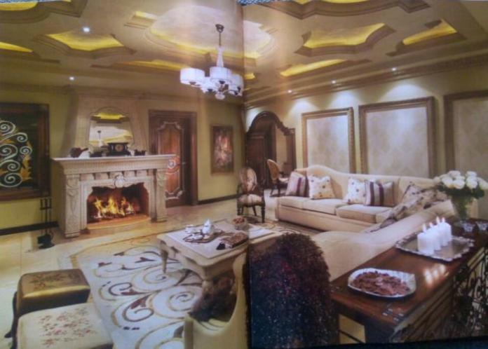 Inside Wanjigi's house