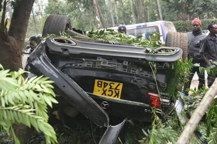 Breaking sad: DP Ruto close associate Kevin Rono dies in a road accident along Langata road