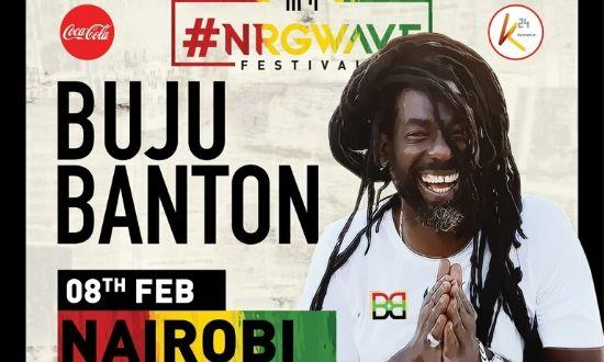 A poster of the Buju Banton concert that was slated for Saturday, February 8, 2020.