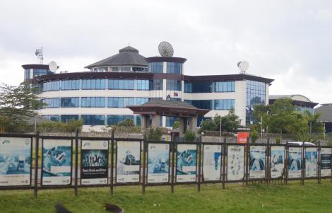 The Standard Media Group Mombasa Road Offices . Thursday, October 14, 2019.