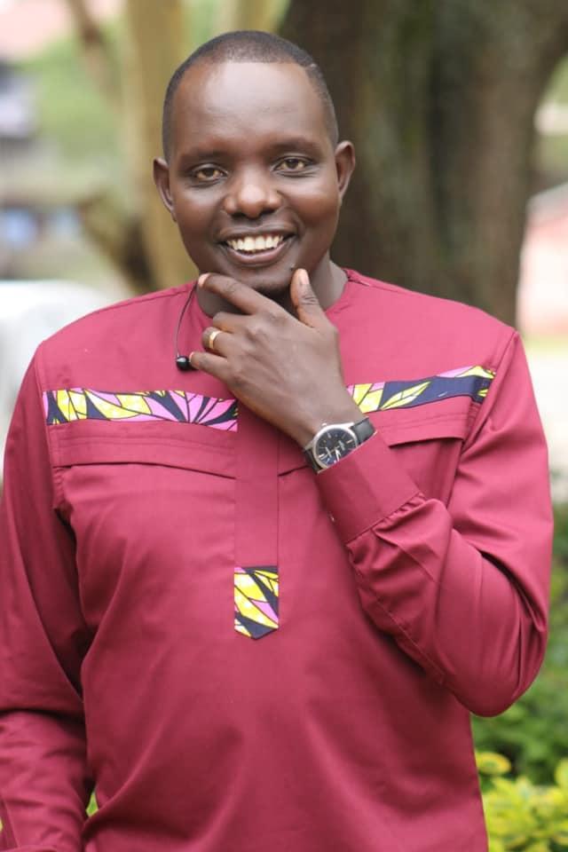A photo of KTN Home Presenter Antony Ndiema dated March 3, 2020.
