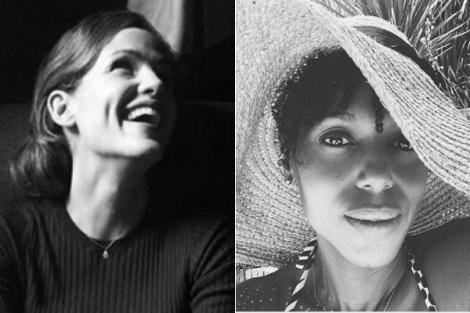 Hollywood actors Jennifer Garner(left) and Kerry Washington (right).