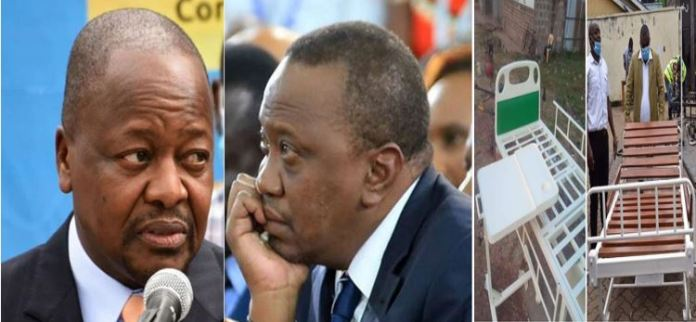 Give Uhuru a break, he was misled by nefarious commercial cartels at Afya House and PDU