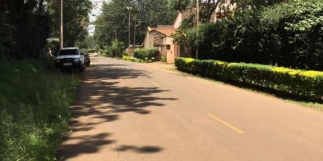 A street, Stream Drive, in Thome, Nairobi