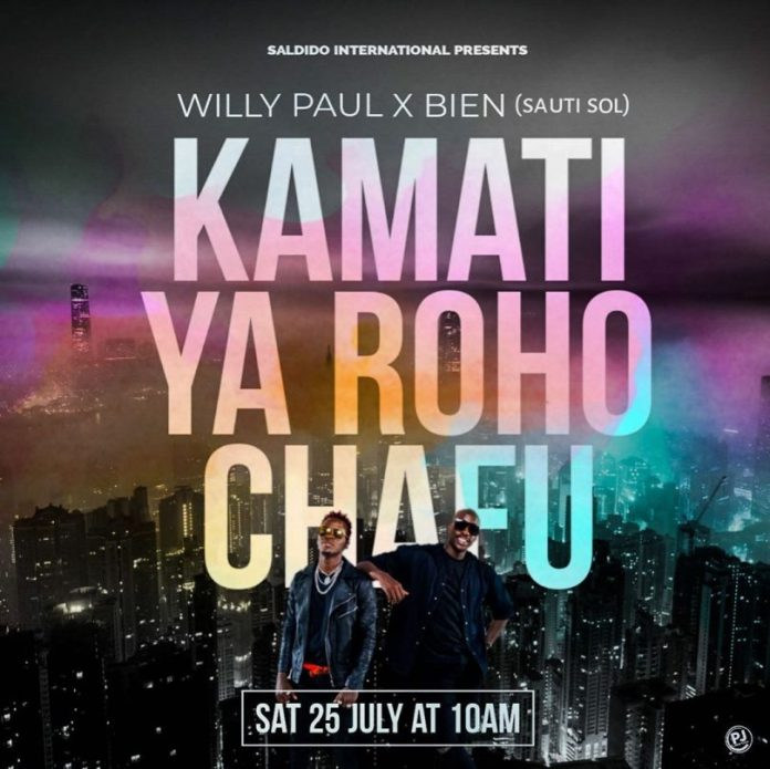 Willy Paul ft Bien (Sauti Sol) – Kamati Ya Roho Chafu (**AUDIO +VIDEO)