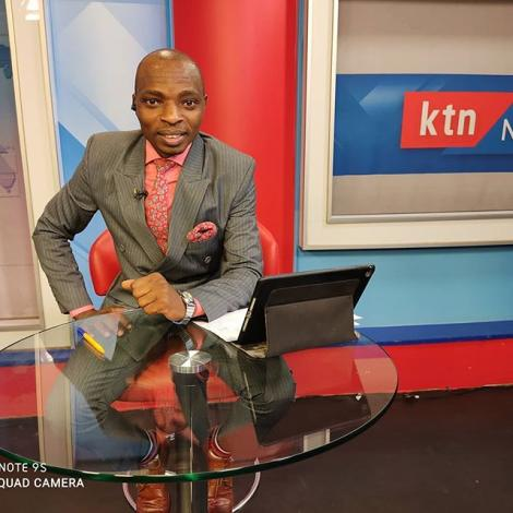 KTN News anchor and Radio Maisha presenter Lofty Matambo