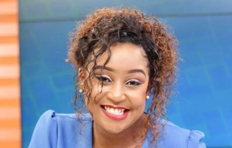 Former K24 TV anchor Betty Kyallo on May 1, 2020.