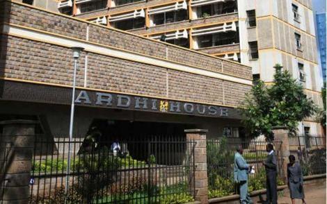 Ministry of Land headquarters based at Ardhi House, Nairobi