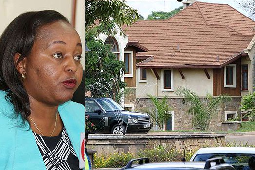 EACC Police storm Governor Waiguru's Nairobi and Kirinyaga homes, search for documents, corruption case