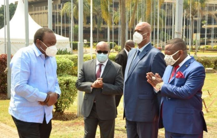 Governor Sonko coils tail, apologizes to Uhuru and offers to support NMS General Badi