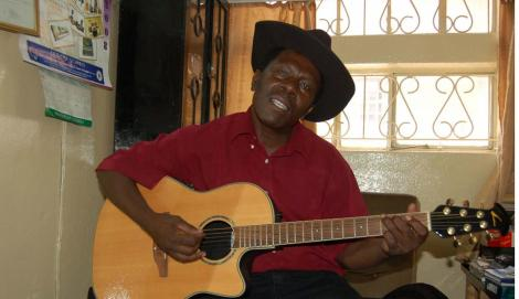 Musician Simon Kihara, popularly known as Musaimo Wa Njeri