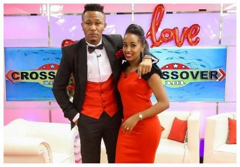 DJ Mo and Grace Ekirapa on Crossover 101 on NTV.