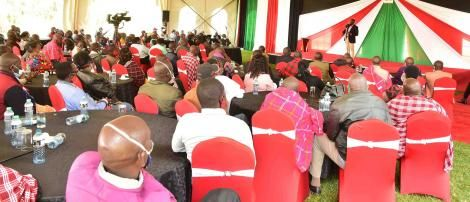 Deputy President William Ruto hosted a delegation of community leaders from Kajiado South Constituency on August 11, 2020