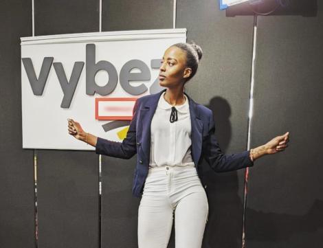 Vybez Radio Presenter Sheila Kwamboka.