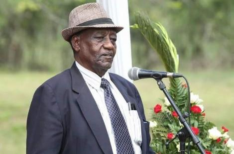 Former assistant minister and veteran politician Elisha Godhana is dead