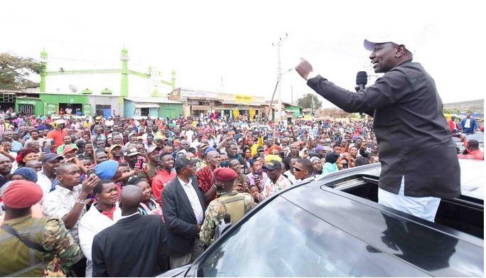 Those who blocked my rally last week are useless fools- DP Ruto mocks CS Matiangi in Nyamira