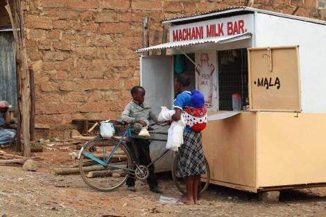 A milkbar situated along Mai-Mahiu