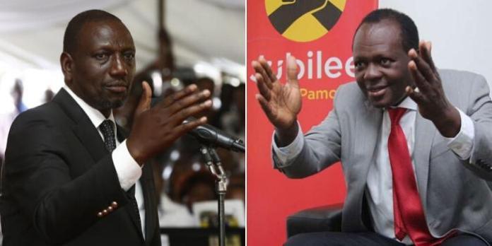 Key Battles Tuju Has Won Over DP Ruto