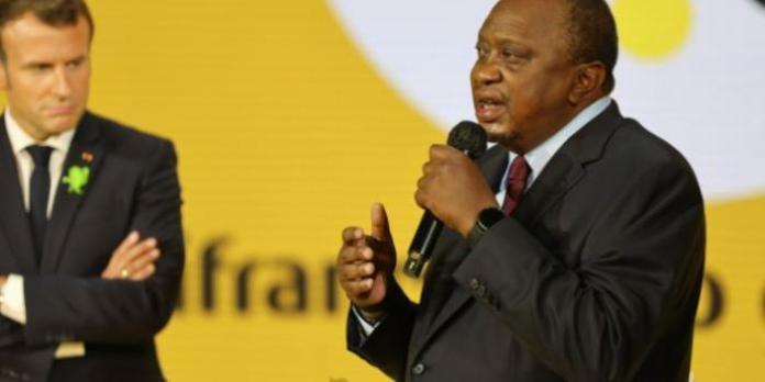 Uhuru Stars in French President's Event [VIDEO]