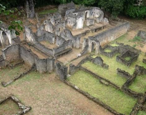 The lost city of Gedi