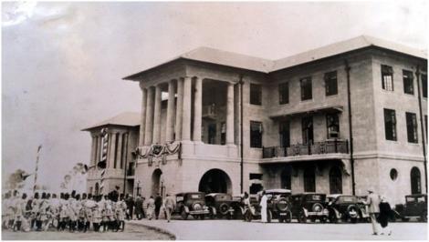 Old photo of Kenya's Supreme Court.