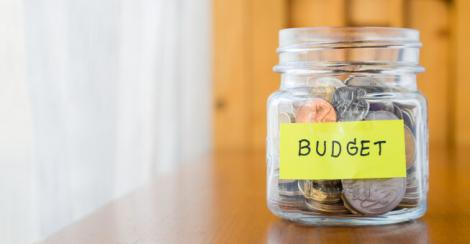 A file image of a budget.