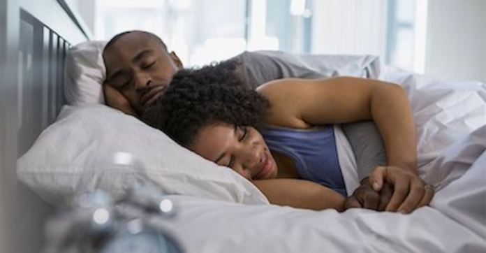 THRIVING COUPLE: Best sleeping habits for married couples