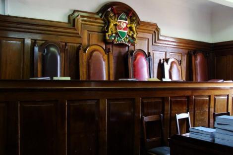 A court in Kenya.