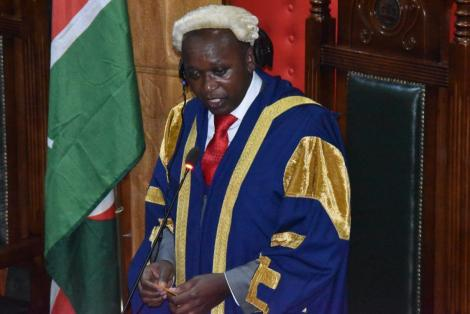 Nairobi County Assembly Speaker Benson Mutura