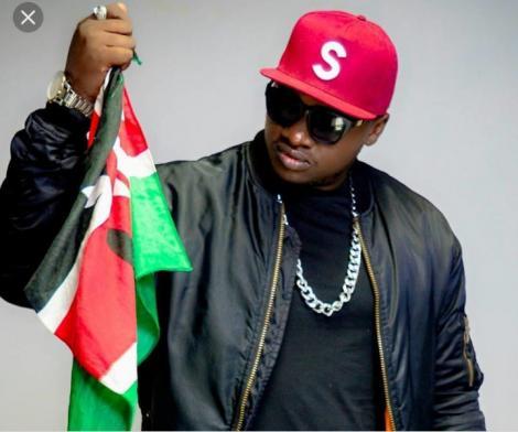 Popular Kenyan musician Khaligraph Jones