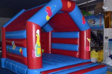 A bouncing castle.