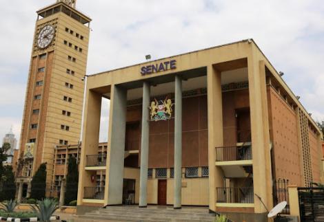 The Senate building located in Nairobi CBD.