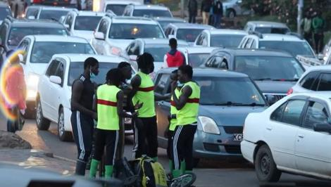 Clan Acrobats performing in Nairobi