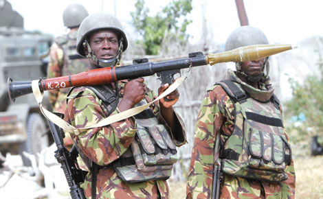 Bring back our soldiers home, stop the selfish business in Somalia