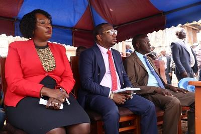 Anne Kananu and former Nairobi Governor Mike Sonko during a past event