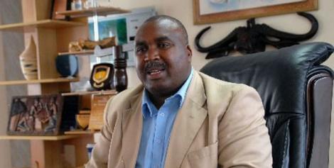 MKU Chairman Prof Simon Gicharu