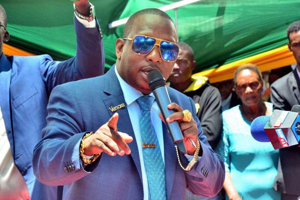 """What you told Kikuyus on Kameme FM is pure lies, you supported corrupt Anne Waiguru""- Mike Sonko mocks Uhuru"