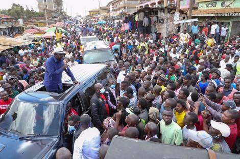 An image of Raila Odinga