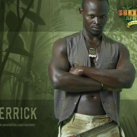 Derrick Assetto, the lead actor in Hunting Film Shot in Nairobi in 2019