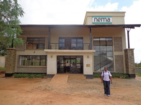 National Environmental Management Authority (NEMA) offices in Taita Taveta County