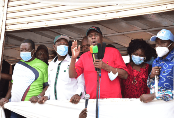 """Endorse yourselves"", Kalonzo, Mudavadi, Wetangula and Gedion MOI told"