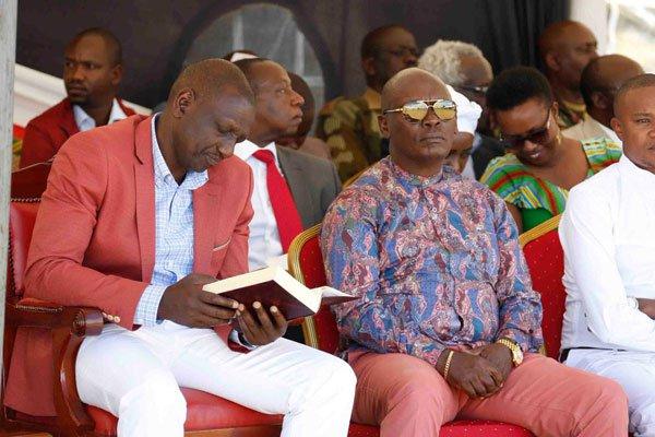 Ex Gov Kabogo meets DP Ruto secretly, Uhuru in Panic