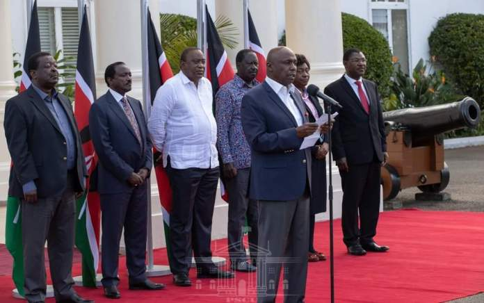 Uhuru, Raila, Mudavadi laud county assemblies for approving BBI bill