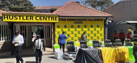 United Democratic Alliance headquarters in Kilimani, Nairobi