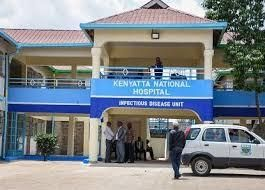 Kenyatta Hospital, among the 16 hospitals listed for the vaccination process in Nairobi by Nairobi Metropolitan Services health director.