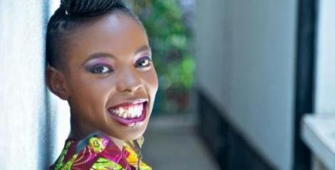 Former Kiss FM presenter Adelle Onyango.