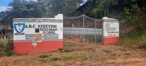 Kiseveni Secondary School in Machakos County.