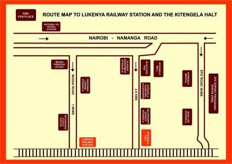 Directions to Lukenya Railway Station.
