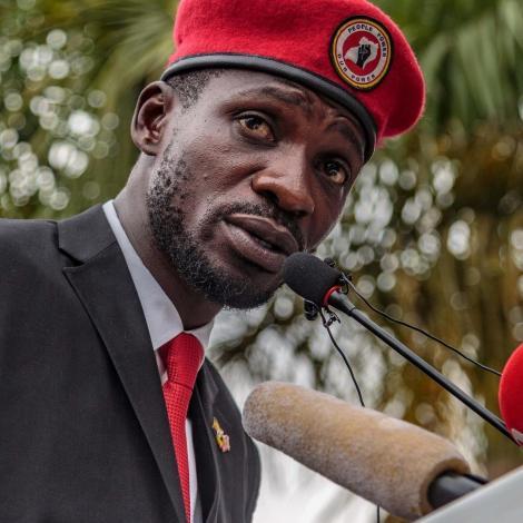 Robert Kyagulanyi alias Bobi Wine